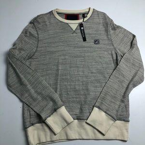 NWT Sperry Top Sider Striped Sweater Medium